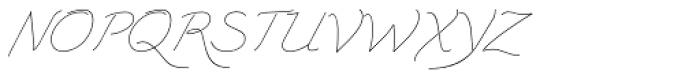 Triana-E Font UPPERCASE