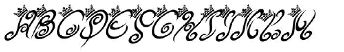Tribal King Italic Alt Font UPPERCASE
