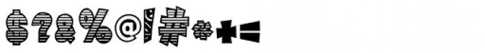 Tribal Maori Black Font OTHER CHARS