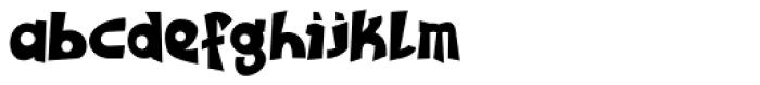 Tribal Maori Black Font LOWERCASE