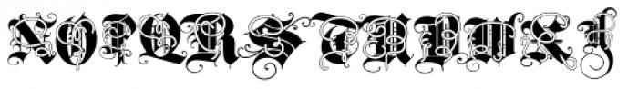 Triball Decorative Font UPPERCASE