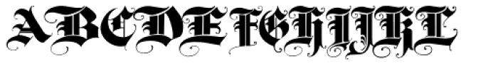 Triball Font UPPERCASE