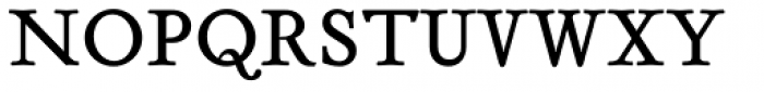 Tribute Roman Font UPPERCASE