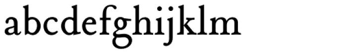Tribute Roman Font LOWERCASE