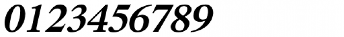 Triest DT Bold Italic Font OTHER CHARS