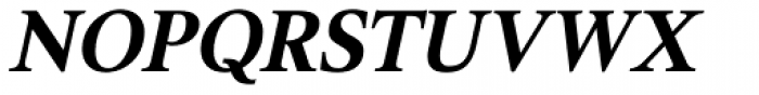 Triest DT Bold Italic Font UPPERCASE