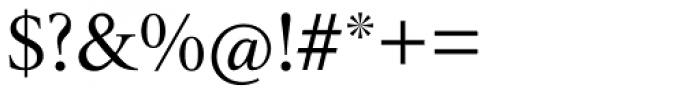 Triest DT Roman Font OTHER CHARS
