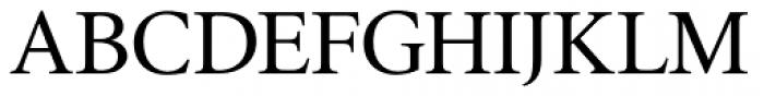 Triest DT Roman Font UPPERCASE