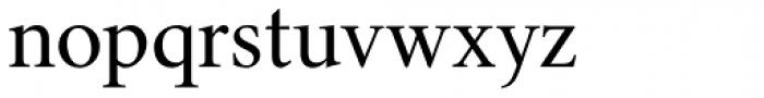 Triest DT Roman Font LOWERCASE