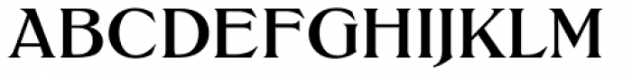 Trieste EF Bold Font UPPERCASE