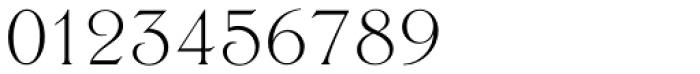 Trieste EF Light Font OTHER CHARS