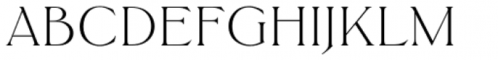Trieste SB Light Font UPPERCASE