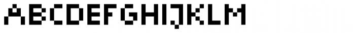 Trigomy Font UPPERCASE