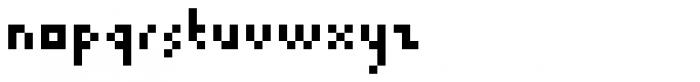 Trigomy Font LOWERCASE