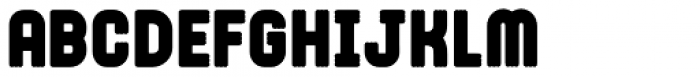 Trilight Solid Font LOWERCASE