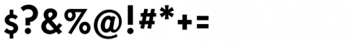 Triplex Sans Bold Font OTHER CHARS