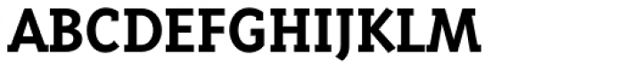 Triplex Serif Bold Font UPPERCASE