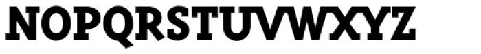 Triplex Serif ExtraBold Font UPPERCASE