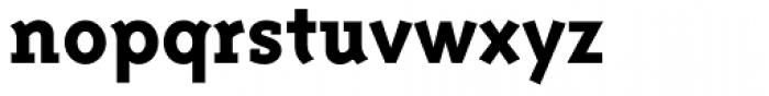 Triplex Serif ExtraBold Font LOWERCASE