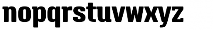 Triump Extra Bold Font LOWERCASE