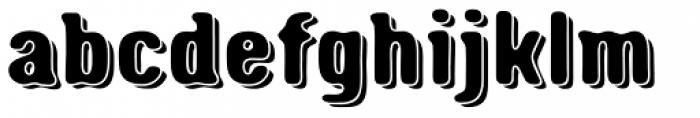 Triump Rough Blur 06 Font LOWERCASE