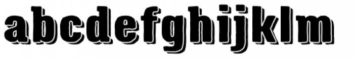 Triump Rough Rock 06 Font LOWERCASE