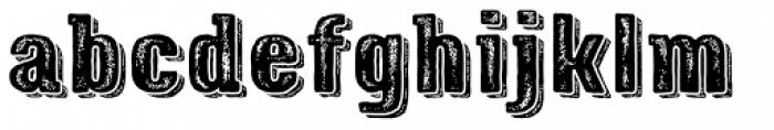 Triump Rough Rock 07 Font LOWERCASE