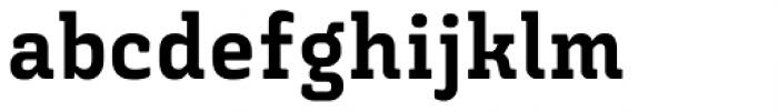 Triunfo Heavy Font LOWERCASE