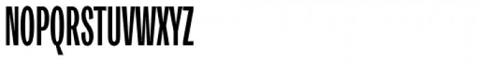 Trivia Gothic U2 UltraCondensed Bold Font UPPERCASE