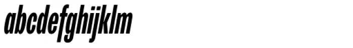 Trivia Grotesk C3 Bold Italic Font LOWERCASE