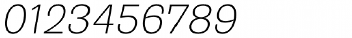 Trivia Grotesk R1 Italic Font OTHER CHARS