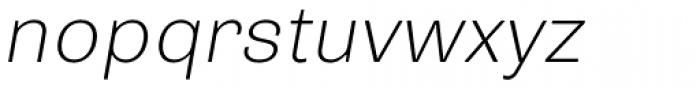 Trivia Grotesk R1 Italic Font LOWERCASE