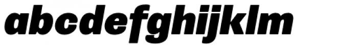 Trivia Grotesk R6 Italic Font LOWERCASE