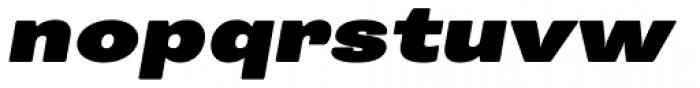 Trivia Grotesk X6 Italic Font LOWERCASE