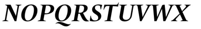 Trivia Humanist Bold Italic Font UPPERCASE