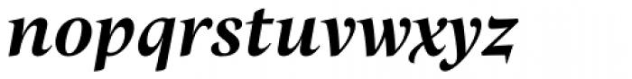 Trivia Humanist Bold Italic Font LOWERCASE
