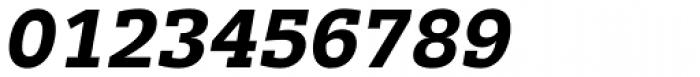 Trivia Slab Bold Italic Font OTHER CHARS