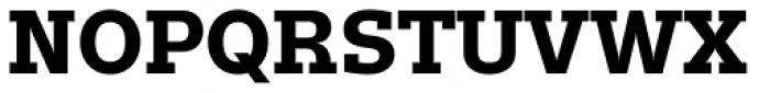 Trivia Slab Bold Font UPPERCASE