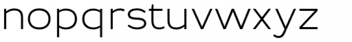 Troia Rounded Light Font LOWERCASE