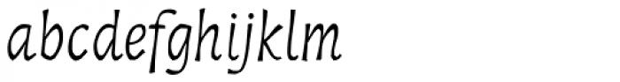 Troiminut Italic Font LOWERCASE
