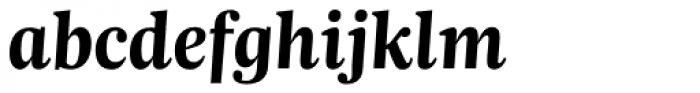 Trola Bold Italic Font LOWERCASE