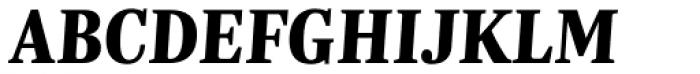 Trola Heavy Italic Font UPPERCASE