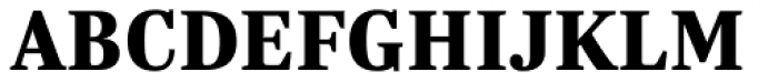 Trola Heavy Font UPPERCASE