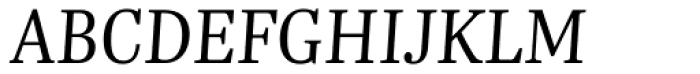 Trola Light Italic Font UPPERCASE