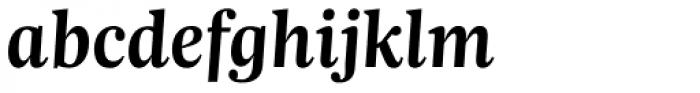 Trola SemiBold Italic Font LOWERCASE