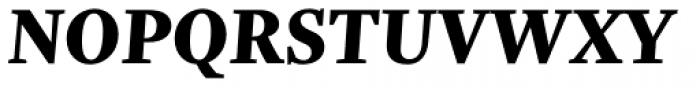 Trola Text Heavy Italic Font UPPERCASE