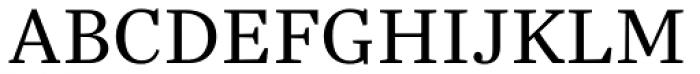 Trola Text Light Font UPPERCASE