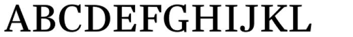 Trola Text Regular Font UPPERCASE