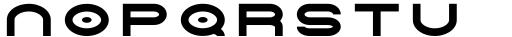 Tromso Regular Font LOWERCASE