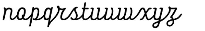Tropen Script Italic Font LOWERCASE
